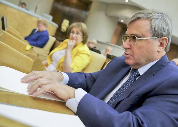 Олег Смолин, Парламентские слушания о повышении качества образования в Госдуме(2019)|Фото: Госдума РФ