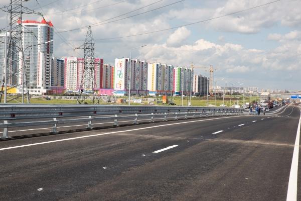 Открытие развязки ТКАД - Монтажников(2019)|Фото: Пресс-служба губернатора Тюменской области