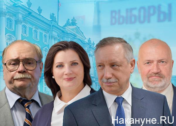 Владимир Бортко, Надежда Тихонова, Александр Беглов, Михаил Амосов(2019)|Фото: Накануне.RU