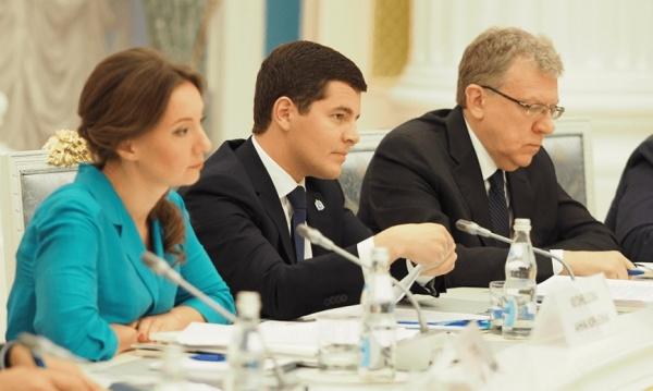 Дмитрий Артюхов, заседание совета при президенте(2019) Фото: yanao.ru