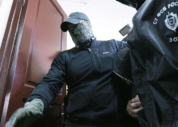 ФСБ, задержание(2019)|Фото: ТАСС, Сергей Бобылев