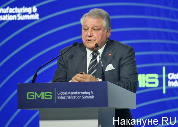 Михаил Ковальчук на саммите GMIS-2019(2019)|Фото: Накануне.RU