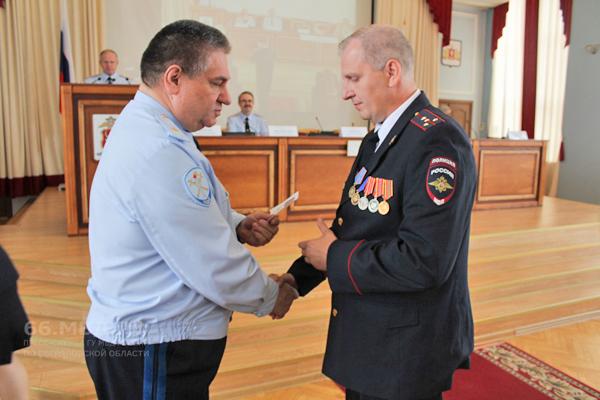Свердловских полицейских наградили по итогам работы в первом полугодии 2019 года(2019)|Фото: В.Н. Горелых