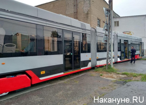 трамвай УКВЗ(2019)|Фото: Накануне.RU