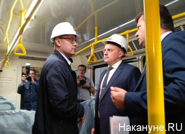 Текслер, трамвай УКВЗ(2019)|Фото: Накануне.RU