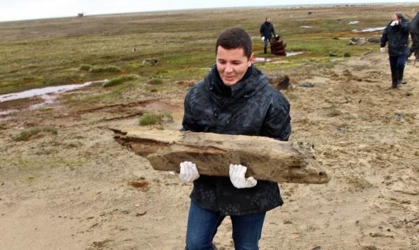 экологическая уборка Арктики, Дмитрий Артюхов(2019)|Фото: yanao.ru