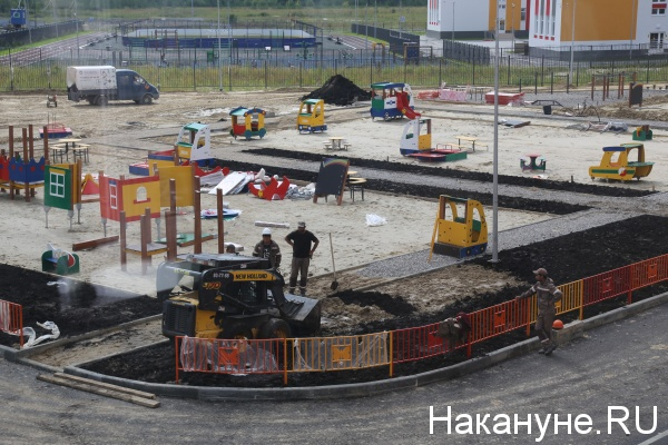 строительство, микрорайон, Тюмень(2019) Фото: Накануне.RU