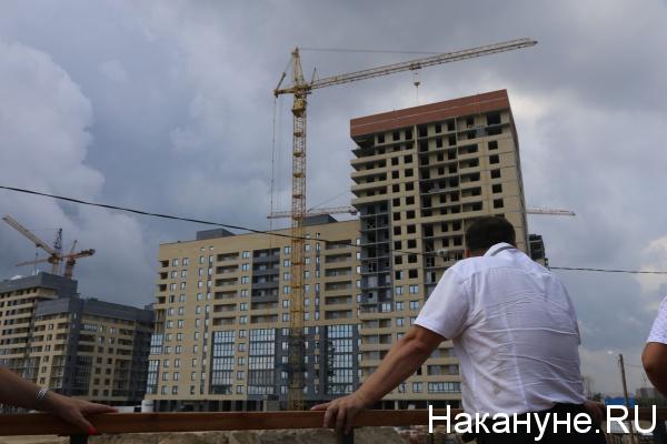 строительство, микрорайон, Тюмень(2019)|Фото: Накануне.RU