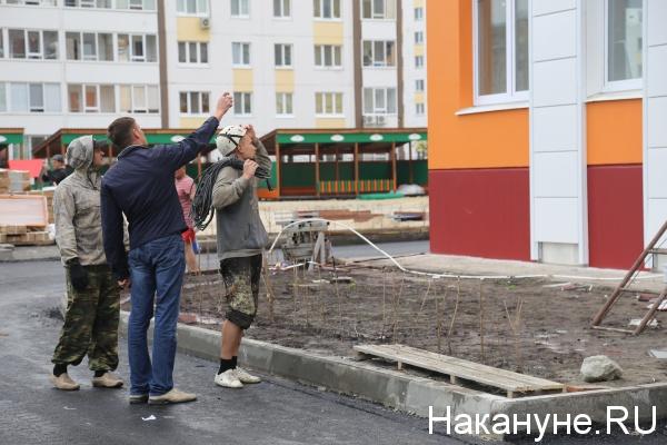 строительство, микрорайон, новостройка, Тюмень(2019) Фото: Накануне.RU