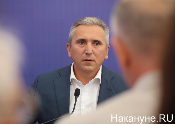 Пресс-конференция губернатора Тюменской области Александра Моора(2019)|Фото: Накануне.RU