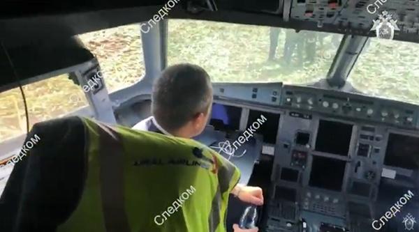кабина самолета Airbus A321(2019)|Фото:youtube.com|Следственный комитет России