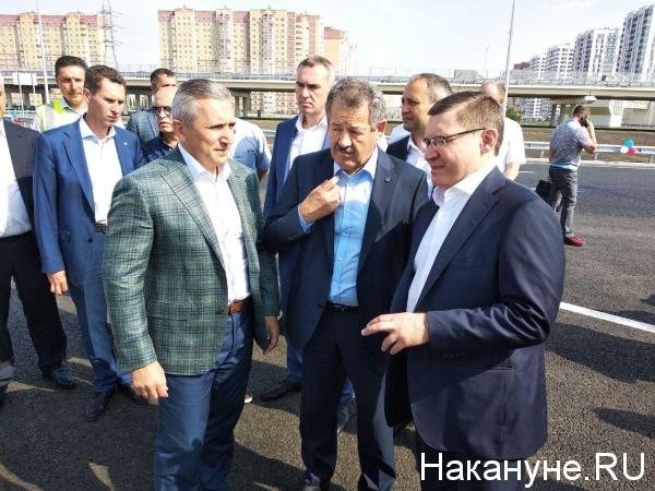 Владимир Якушев, Александр Моор, открытие развязки(2019)|Фото:
