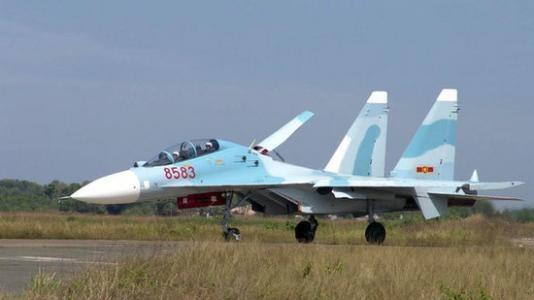Истребитель Су-30 ВВС Социалистической республики Вьетнам(2019) Фото: http://mil.news.sina.com.cn/