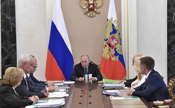 Совещание по вопросам модернизации первичного звена здравоохранения(2019)|Фото: kremlin.ru