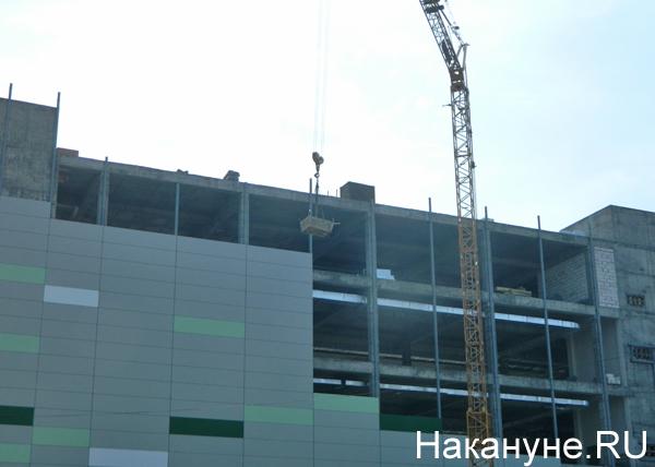 Строительная площадка в Челябинске(2019)|Фото: Накануне.RU