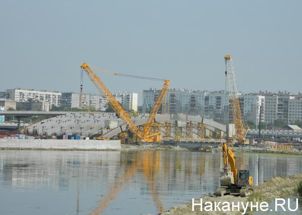 Строительная площадка конгресс-холла в Челябинске(2019)|Фото: Накануне.RU