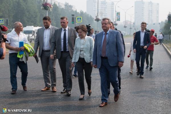 василий тихонов, наталья комарова, дороги(2019)|Фото:пресс-служба главы Нижневартовска