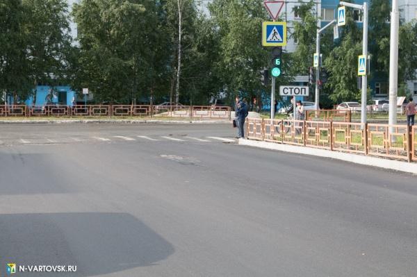 светофор, дорога, трасса, пешеходный переход(2019) Фото:пресс-служба главы Нижневартовска