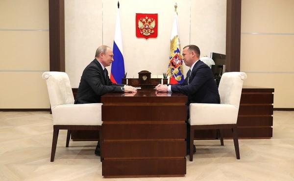 Владимир Путин, Вадим Шумков(2019) Фото: kremlin.ru