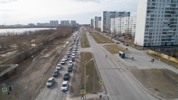 Улица Интернациональная Нижневартовск(2019)|Фото: Администрация Нижневартовска