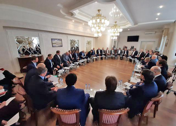 Заседание СОСПП(2019) Фото: Департамент информационной политики Свердловской области