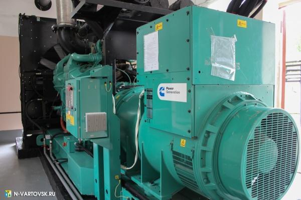 дизель генератор, оборудование, жкх(2019)|Фото:пресс-служба главы Нижневартовска