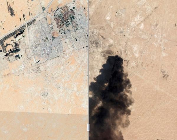 атака на НПЗ Саудовская Аравия(2019)|Фото: wsj.com