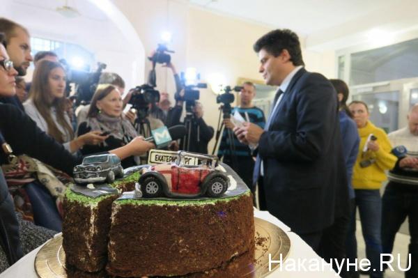 Александр Высокинский, день рождения, торт(2019)|Фото: Накануне.RU