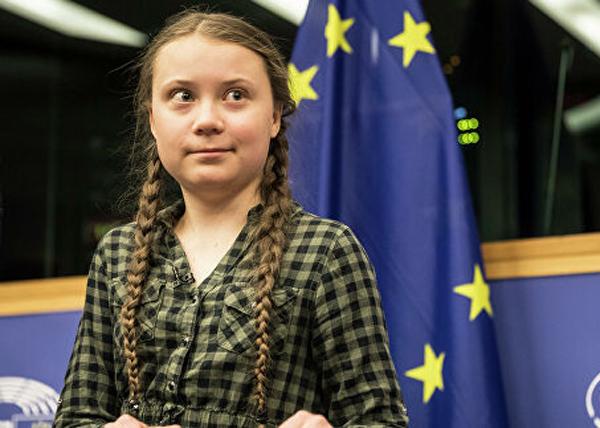 Грета Тунберг(2019)|Фото: AP Photo / Jean-Francois Badias