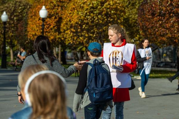 волонтеры, опрос, храм Святой Екатерины(2019)|Фото:Фонд святой Екатерины