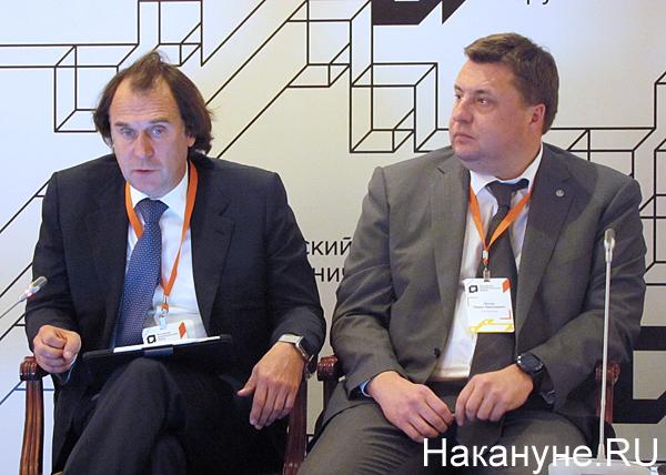 Сергей Лисовский, сенатор, Павел Косов, гендиректор Росагролизинга (2019)|Фото: Накануне.RU