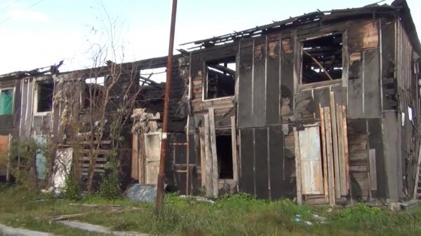 Сгоревший жилой дом Пойковский(2019)|Фото: УМВД по ХМАО