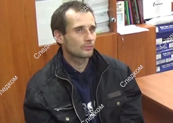 Допрос подозреваемого в убийстве ребенка в Саратове (2019)   Фото: СК РФ
