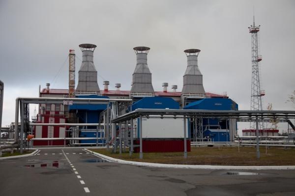 Газотурбинная электростанция, Восточно-Сургутское месторождение Сургутнефтегаза, промышленность, нефтяники(2019)|Фото: Пресс-служба Правительства Югры