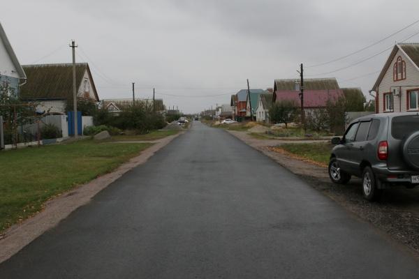 дорога, деревня, село, коттедж, асфальт(2019)|Фото: пресс-служба Воронежской областной думы