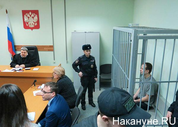 Алексей Александров, расстрелявший двух девушек на Уктусе, суд(2019) Фото: Накануне.RU