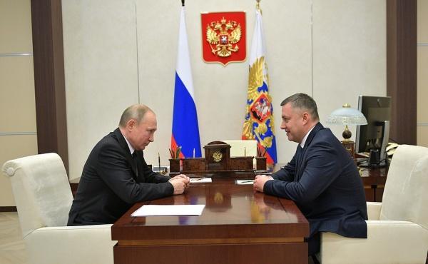 Игорь Кобзев, Владимир Путин(2019)|Фото: kremlin.ru