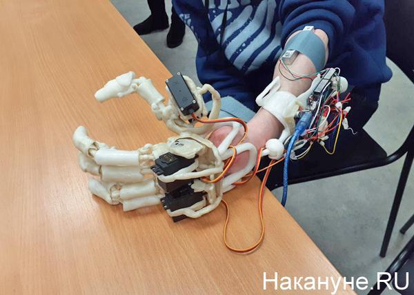 Уральский ученый изобрел новый бионический протез руки(2019)|Фото: Накануне.RU