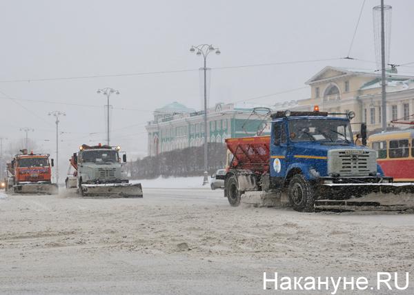 Снегоуборочные машины в Екатеринбурге(2019)|Фото: Накануне.RU