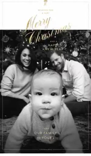 Принц Гарри, Меган Маркл, Арчи Харрисон. (2019)|Фото: twitter.com/queenscomtrust