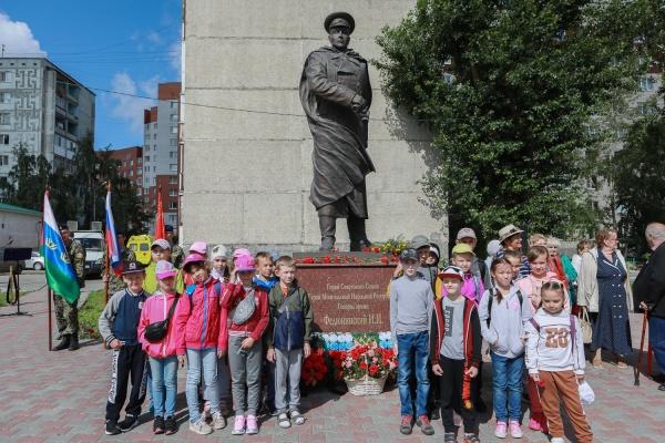 памятник Федюнинскому(2020)|Фото: Транснефть – Сибирь