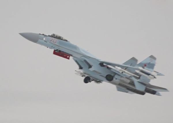 Истребитель Су-35С поколения 4++.(2020)|Фото: телеканал Звезда|Министерство обороны РФ