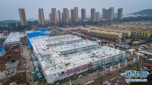 Больница в Китае для лечения больных коронавирусом(2020) Фото: news.cn