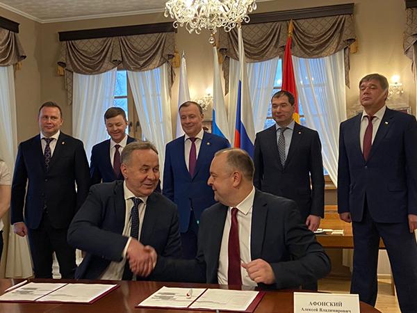 Подписание дорожной карты по строительству тагильского моста(2020)|Фото: gubernator96.ru