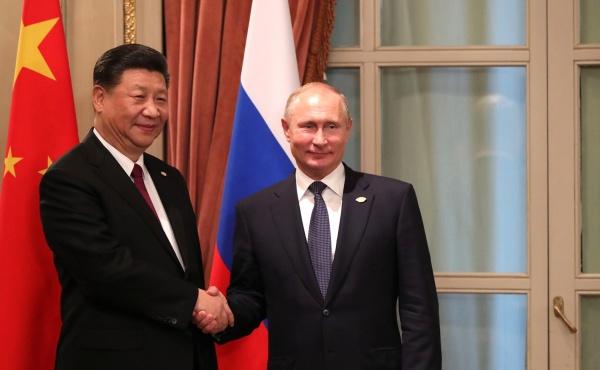 Си Цзиньпин, Владимир Путин(2020)|Фото: kremlin.ru
