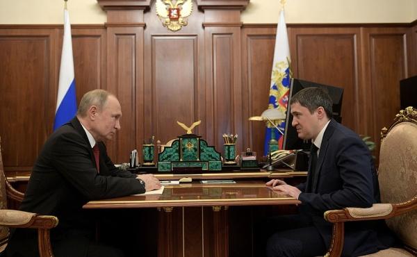 Дмитрий Махонин, Владимир Путин(2020)|Фото: kremlin.ru