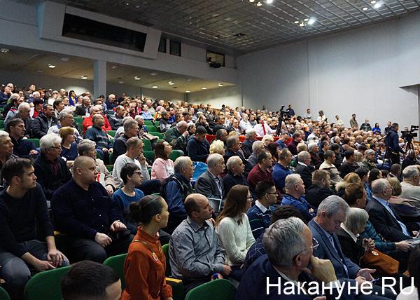Николай Платошкин в Екатеринбурге, зрительный зал(2020)|Фото: Накануне.RU