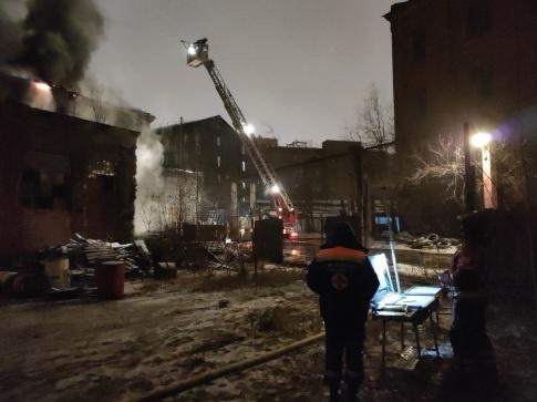 пожар в Санкт-Петербурге(2020)|Фото: ГУ МЧС России по Санкт-Петербургу