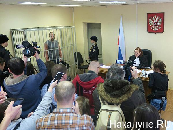 Артемий Кызласов, суд(2020) Фото: Накануне.RU