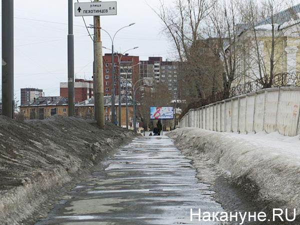 сугробы, черный снег, грязь(2020)|Фото: Фото: Накануне.RU